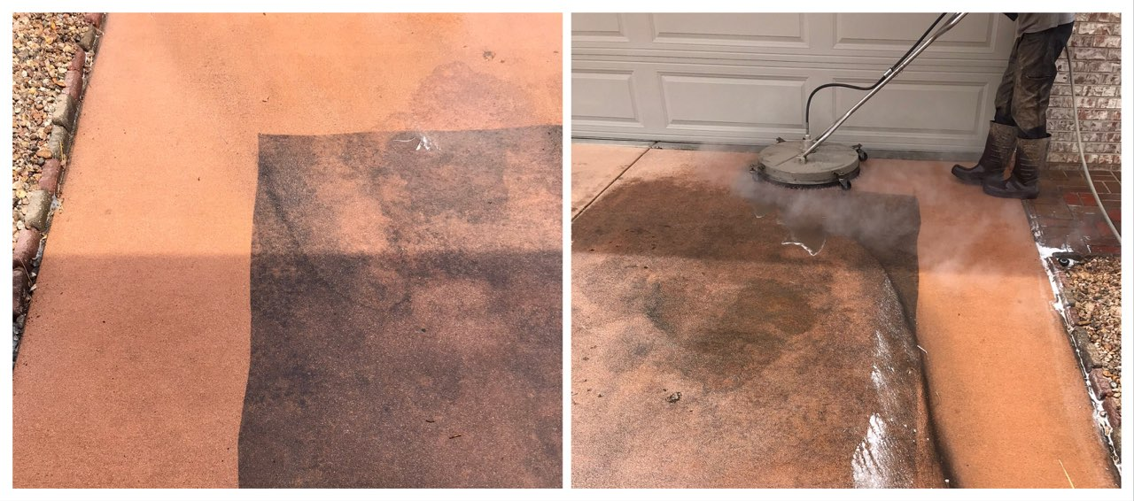 Concrete Washing & Stain Removal Service Areas Include: Fort Collins, Loveland, Windsor, Greeley, Longmont, Berthoud, Estes Park, Wellington, Cheyenne Wyoming