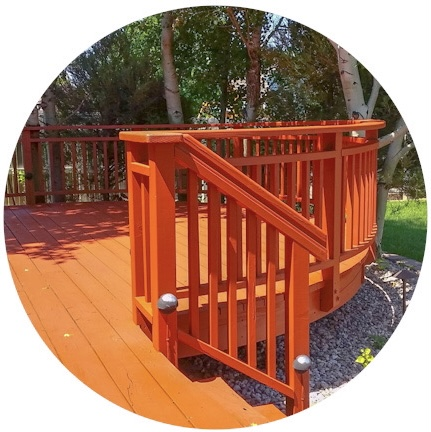 Deck/Fence Washing & Staining