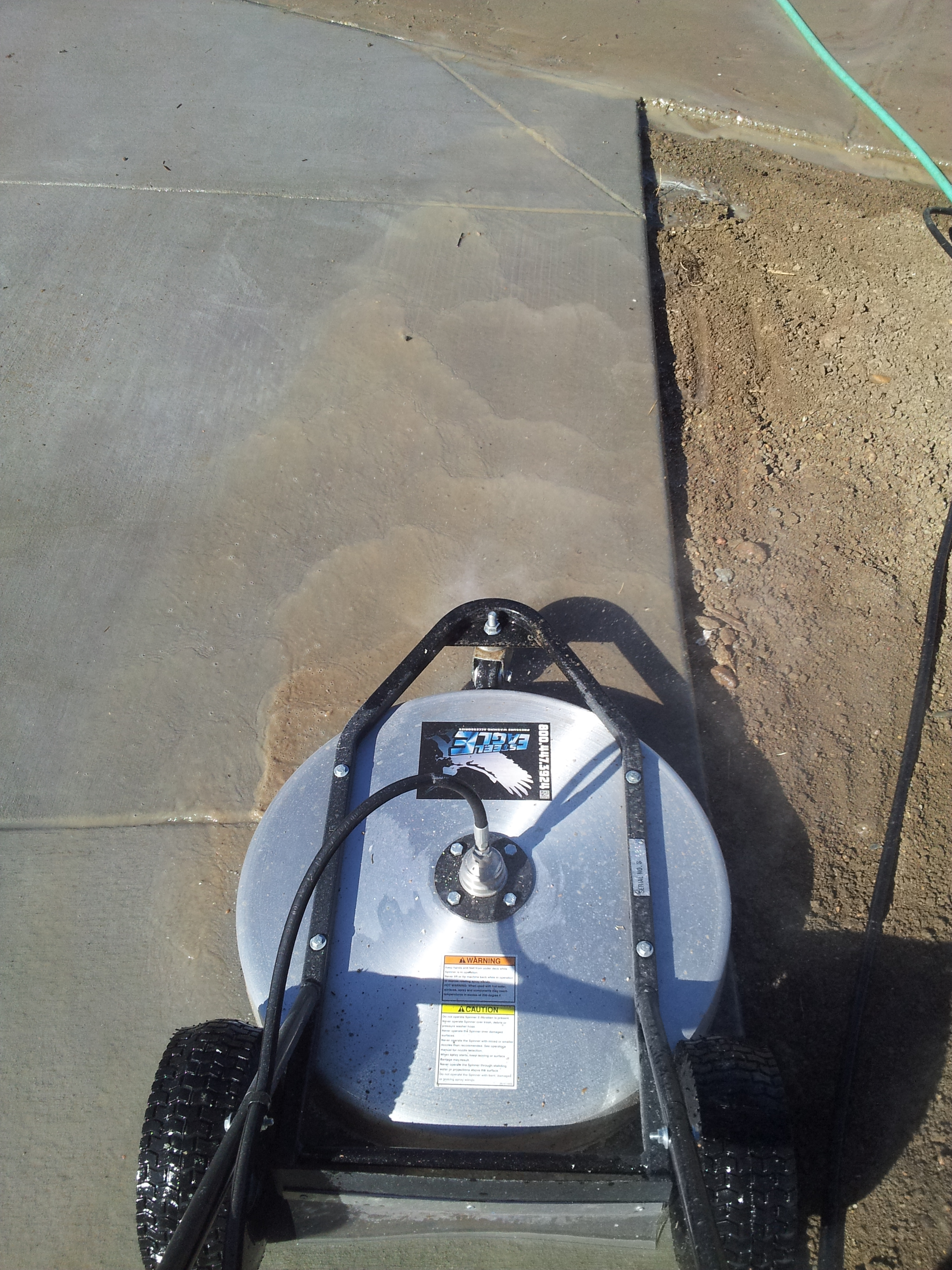 The deepest clean pressure washers offer!