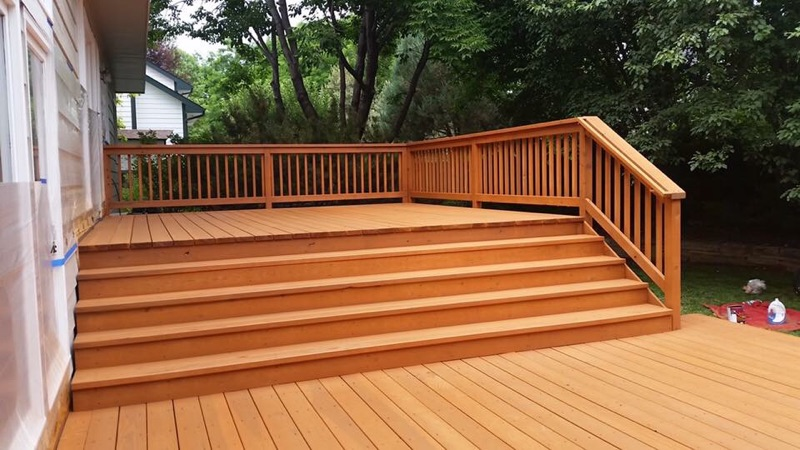 Deck Staining Fort Collins, Lovleand