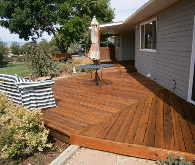 Fort Collins, Loveland, Windsor Deck Stain